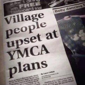 Village People YMCA blog photo